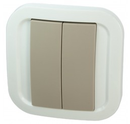 NodOn Wall Switch Z-Wave Plus CWS-3-1-02 (Cozy Grey)