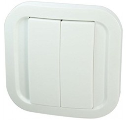 NodOn Wall Switch Z-Wave Plus CWS-3-1-01 (Cozy white)